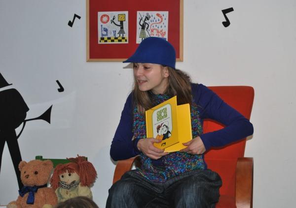 Beatriz Campos, actriz e narradora.