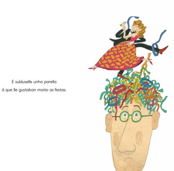 """""""Nicomedes o pelado"""", de Pinto&Chinto (Kalandraka)."""