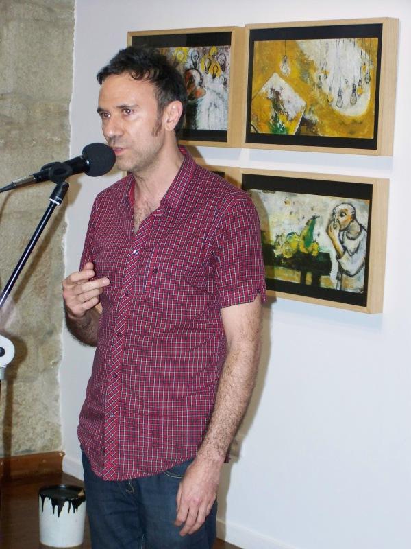 Federico Fernández, ilustrador e profesor.