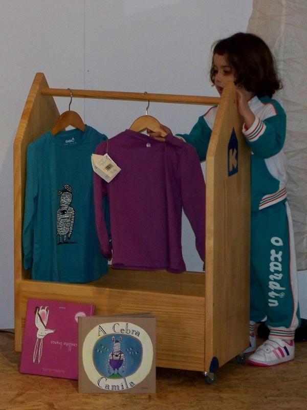 Presentación da colección de moda infantil de Casa K en LIBROS PARA SOÑAR.