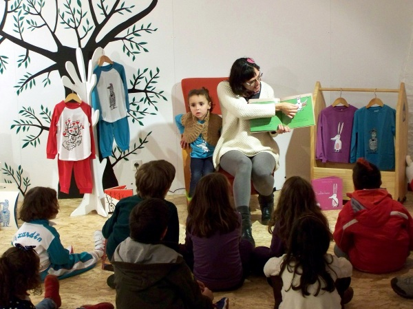 Olalla tamén nos contou as aventuras da Cebra Camila.
