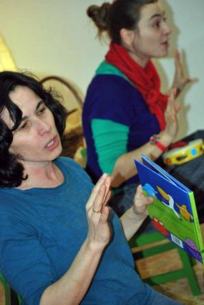 Nas sesións de contacontos para bebés de Libros para Soñar.