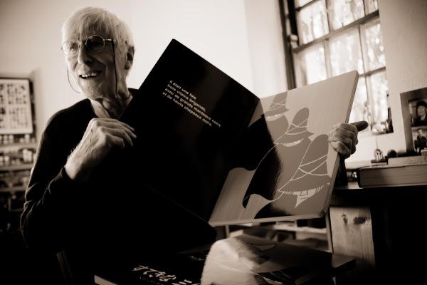 Tomi Ungerer, autor e ilustrador alsaciano.