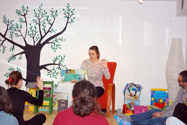 Así transcorreu o curso de contacontos con Bea Campos en Libros para Soñar.