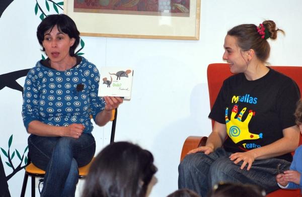 """Contacontos para bebés no Día do Libro, en Libros para Soñar. Contado """"Frederick, Onde?""""."""