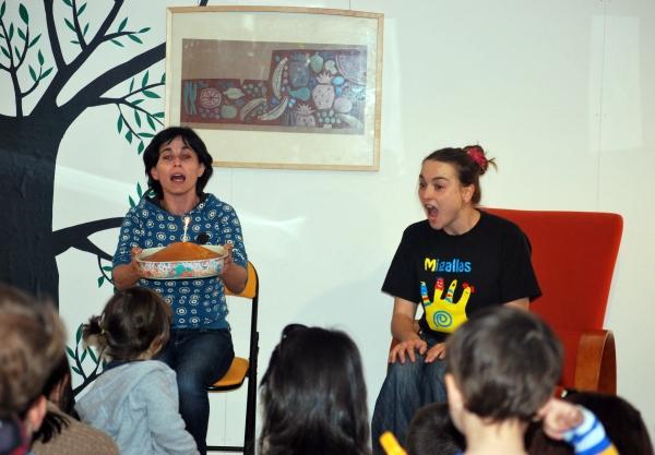Contacontos para bebés no Día do Libro, en Libros para Soñar. Feliz cumpreanos, LPS!