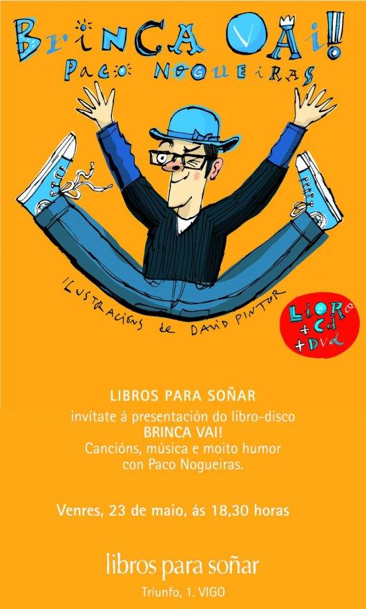 "Presentación de ""Brinca Vai!"" en LIBROS PARA SOÑAR."