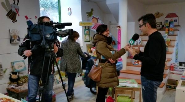Paco Nogueiras, entrevistado pola TVG.