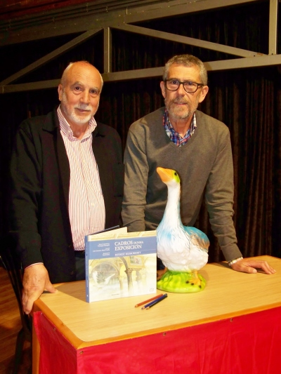 José Antonio Abad e Xosé Cobas