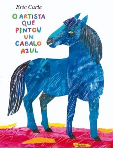 O artista que pintou un cabalo azul
