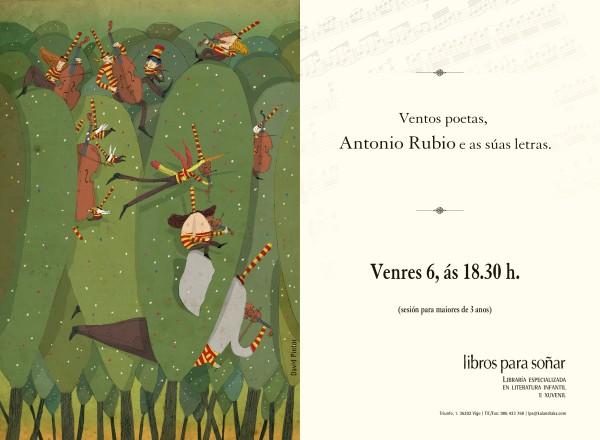 Antonio Rubio: sesión de contacontos