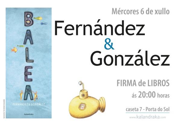 """Fernández & González asinarán """"Balea""""."""