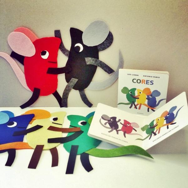 Os ratiños de Leo Lionni decorarán a caseta de Libros para soñar