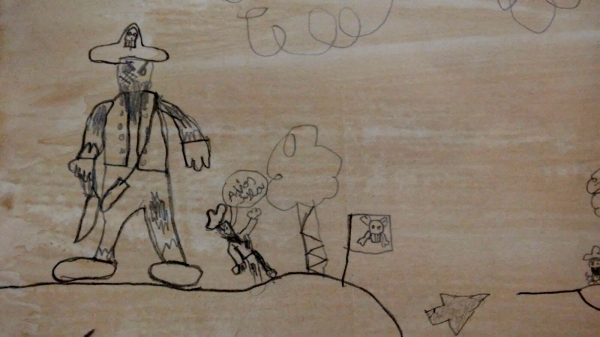 """Taller infantil de ilustración """"Un libro enrollado"""", con Ramón Trigo"""