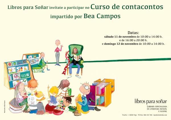 Curso de contacontos con Bea Campos