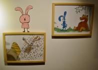 """Exposición de ilustracións de """"Un máis"""" en LIBROS PARA SOÑAR"""