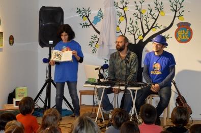 Paco Nogueiras e Sr.Sagüillo presentáronnos RADIO BULEBULE