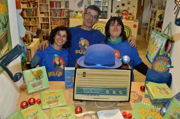 Paco Nogueiras presentounos RADIO BULEBULE en Libros para soñar'