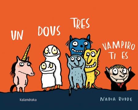 """""""Un dous tres, vampiro ti es"""", de Nadia Budde (Kalandraka)"""