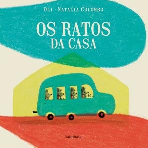 """Os ratos da casa"", de Oli e Natalia Colombo (Kalandraka)"